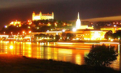 Christmas Bratislava.European Christmas Cruise Bratislava Slovakia First Stop